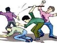 बदमाशों ने की एक-दूसरे पर अंधाधुंध फायरिंग, पुलिस के आने से पहले फरार|दिल्ली + एनसीआर,Delhi + NCR - Money Bhaskar