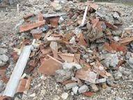 पिता का अंतिम संस्कार कर लौट रहे युवक पर ढह गई दीवार; मलबे के नीचे दबकर हुई मौत|बिहार,Bihar - Money Bhaskar