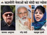 जम्मू-कश्मीर के 14 नेता शामिल होंगे, प्रदेश के बड़े नेताओं का एक ही एजेंडा- धारा 370 और 35 ए पर फैसला वापस ले सरकार देश,National - Dainik Bhaskar