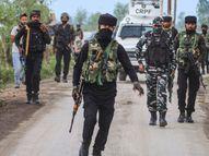 कठुआ के हीरानगर सेक्टर में 27 किलो हेरोइन जब्त, इसकी कीमत करीब 135 करोड़; तस्कर को भी मार गिराया देश,National - Dainik Bhaskar