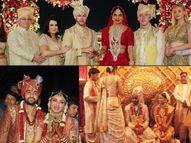 शिल्पा शेट्टी से लेकर प्रियंका चोपड़ा तक, किसी ने शादी के जोड़े में जड़वाए 3 करोड़ के कुंदन तो किसी ने पहनी असली गोल्ड की साड़ी बॉलीवुड,Bollywood - Dainik Bhaskar