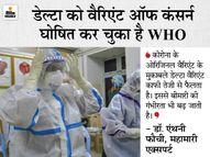 अमेरिका में कोरोना के खिलाफ लड़ाई में डेल्टा वैरिएंट सबसे बड़ा खतरा; महामारी एक्सपर्ट ने कहा- जल्द से जल्द वैक्सीनेशन पूरा करें देश,National - Dainik Bhaskar