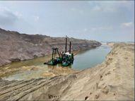 काशी में गंगा के समानांतर बन रहे साढ़े पांच किलोमीटर के बाईपास चैनल पर घमासान देश,National - Dainik Bhaskar