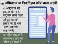 नया ट्रेडिंग और डीमैट अकाउंट खोलने पर नॉमिनेशन का ऑप्शन मिलेगा, 1 अक्टूबर से बदलेगा नियम|कंज्यूमर,Consumer - Money Bhaskar