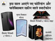 फोल्डेबल स्क्रीन वाले स्मार्टफोन के लिए करें थोड़ा सा इंतजार, इसी साल सैमसंग से शाओमी तक कई ऑप्शन मिलेंगे|टेक & ऑटो,Tech & Auto - Money Bhaskar