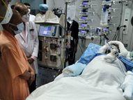 लंग्स के बाद किडनी में भी फैला इंफेक्शन, अगले 24 घंटे काफी अहम, डॉक्टर्स ले सकते हैं बड़ा फैसला लखनऊ,Lucknow - Money Bhaskar