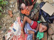 महिला को अचानक हुई प्रसव पीड़ा, तो पुलिस और महिला की मां ने क्रॉसिंग पर करवाई डिलीवरी|बरेली,Bareilly - Money Bhaskar