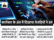 सेंसेक्स में 640 पॉइंट की रिकवरी, 135 पॉइंट गिरकर 52,443 पर बंद, 37 पॉइंट नीचे 15,709 पर रहा निफ्टी इकोनॉमी,Economy - Money Bhaskar