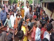 भिलाईमें इकलौते सेंटर में हो रहा था टीकाकरण इसलिए जमा हो गई भीड़; एक दूसरे से सटकर घंटों खड़े रहे भिलाई,Bhilai - Money Bhaskar