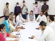 बिसाहूलाल सिंह ने विशाल अन्न महोत्सव की तैयारियों को लेकर की समीक्षा, बैठक में अधिकारियों से जानी पीएम आवास की प्रगति|रीवा,Rewa - Money Bhaskar
