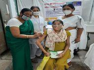 पहले दौर में 220 से ज्यादा को महिलाओं को लगे टीके, पहले की जा रही काउंसलिंग|इंदौर,Indore - Money Bhaskar