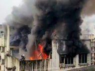 बोरीवली इलाके में एक 7 मंजिला इमारत में भीषण आग, एक फायरमैन हुआ घायल; दमकल की 6 गाड़ियां आग बुझाने पहुंची मुंबई,Mumbai - Money Bhaskar