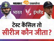 भारत-इंग्लैंड के बीच 5वां टेस्ट कैंसिल; ECB के एक बयान के बाद ये तय नहीं कि भारत 2-1 से जीता या 2-2 रहा नतीजा, जानें आगे क्या होगा एक्सप्लेनर,Explainer - Money Bhaskar
