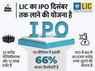 LIC के IPO में कम फीस मिलने से दूर हो रही हैं कानूनी फर्म्स, गुरुवार को बिड जमा करने की अंतिम तारीख|इकोनॉमी,Economy - Money Bhaskar
