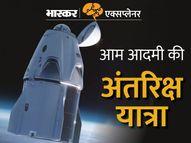 पहली बार 4 आम लोग स्पेस में गए; कैंसर हॉस्पिटल के लिए फंड इकट्ठा करने के लिए अंतरिक्ष में गिटार बजाएंगे, 3 दिन वहीं रहेंगे एक्सप्लेनर,Explainer - Money Bhaskar