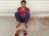 रीवा का संजय गांधी अस्पताल बना आत्महत्या का मुख्य स्पाट, चौथी मंजिल से विच्छप्त युवक ने की छलांग लगाने की कोशिश, सुरक्षाकर्मियों ने बचाया रीवा,Rewa - Money Bhaskar