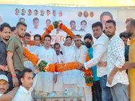 रीवा में संकल्प दिवस के रूप में मनाई गई पूर्व विधानसभा अध्यक्ष की जयंती, कार्यक्रम में उमड़े MP कांग्रेस के दिग्गज नेता रीवा,Rewa - Money Bhaskar