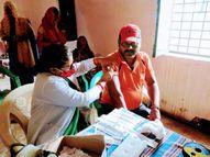 रीवा जिले में 17 सितंबर को शाम 6 बजे तक हुआ 90 हजार वैक्सीनेशन, 1.20 लाख टीका लगने का अनुमान, गांवों में दिखा उत्साह रीवा,Rewa - Money Bhaskar