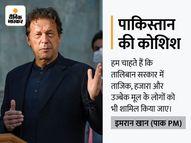 इमरान खान बोले- सरकार में सबको शामिल करने के लिए तालिबान से बातचीत कर रहा हूं, हम अफगानिस्तान के लिए फिक्रमंद|अफगान-तालिबान,Afghan-Taliban - Money Bhaskar