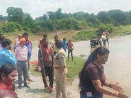 खेलते-खेलते तालाब में गए 3 बच्चों की मौत, गणेश विसर्जन के दौरान गई एक युवक की जान सतना,Satna - Money Bhaskar