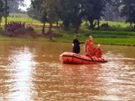 नहाने के दौरान युवक तैरते हुए पहुंच गया बीच तालाब में, NDRF की टीम ने एक दिन बाद निकाला शव रांची,Ranchi - Money Bhaskar