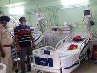 बिनाहथकड़ी लगाएरिम्स के मेडिसिन आईसीयू वार्ड में चल रहा था इलाज, 5 साल पहले किया गया था गिरफ्तार रांची,Ranchi - Money Bhaskar