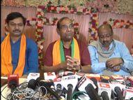 कानपुर में राज्यसभा सांसद बृजलाल बोले- सपा सरकार में वापस लिए जाते हैं आतंकियों के केस, समाज और देश में भय का माहौल|कानपुर,Kanpur - Money Bhaskar
