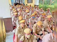 पुलिस अधिकारी और कर्मचारी कार्य स्थल और सामाजिक जीवन में बनाए रखें सदाचार-कच्छावा|करौली,Karauli - Money Bhaskar