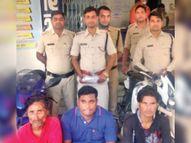 आरोपियों से 104 इंजेक्शन व 2 बाइक बरामद अंबिकापुर,Ambikapur - Money Bhaskar