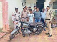 चोरी की गाड़ी बेचने ग्राहक तलाशते हुए युवक पकड़ाया|राजनांदगांव,Rajnandgaon - Money Bhaskar