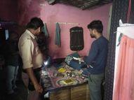 ताला लगाकर सिलेंडर लेने गया युवक, लौटा तो ताला टूटा था, चोर 30 हजार रुपए नकद सहित डेढ़ लाख का माल ले गए सतना,Satna - Money Bhaskar