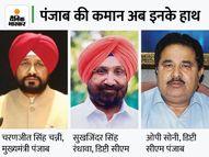 चन्नी ने दो डिप्टी CM रंधावा और सोनी के साथ शपथ ली; अमरिंदर के साथ आज नहीं होगी मुलाकात|देश,National - Money Bhaskar