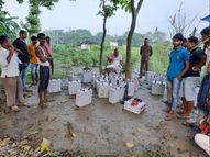 सोलर प्लांट के गार्ड को बनाया बंधक, लूट में कामयाब नहीं होने पर फायरिंग करते हुए भागे अपराधी बिहार,Bihar - Money Bhaskar