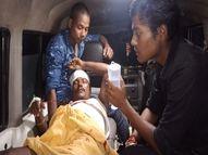 अपराधियों ने विश्वकर्मा पूजा को लेकर लगे मेले में जमकर की गोलीबारी, दो गोली लगने से युवक घायल बिहार,Bihar - Money Bhaskar