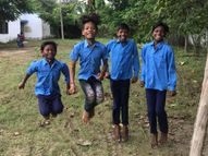 रीवा जिले में 18 माह बाद खुले प्राथमिक स्कूल, पहले दिन बच्चों के चेहरे में दिखा साफ उत्साह, नहीं दिखा कोविड प्रोटोकॉल रीवा,Rewa - Money Bhaskar