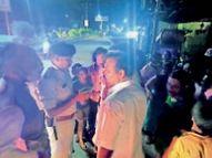 गणेश विसर्जन के दौरान युवती ने युवक को मारा चाकू, गंभीर|राजनांदगांव,Rajnandgaon - Money Bhaskar