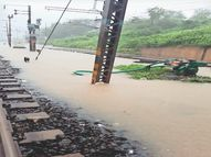अनंत चतुर्दशी पर सुबह से दोपहर तक हुई छह इंच बारिश ने नगर निगम की लापरवाही को उधेड़ कर रख दिया, पानी इतना तेजी से बरसा कि सारे इंतजाम हुए फेल|रतलाम,Ratlam - Money Bhaskar