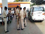 पटना में प्रबंधक से दिनदहाड़े 5 लाख की लूट, चलाई गोली और बैग छीनकर भागे लुटेरे पटना,Patna - Money Bhaskar