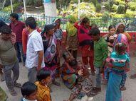 गांव में पंचायती कर लौट रहे थे बाप-बेटा; एक की मौके पर ही मौत, पिता की हालत गंभीर बिहार,Bihar - Money Bhaskar