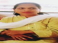 ब्रेन डेथ व अंगदान की इच्छा के बीच हार्टअटैक से हो गई मौत, अब आंखें व त्वचा की डोनेट इंदौर,Indore - Money Bhaskar