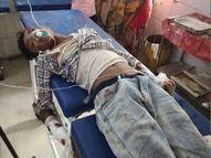 गंभीर हालत में पटना किया गया रेफर, 40 फीट ऊपर से कूदकर भागने में हुए थे घायल मुजफ्फरपुर,Muzaffarpur - Money Bhaskar