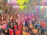 चल समारोह में निकली झांकियां, लोगों को धार्मिक आस्था के साथ वैक्सीनेशन करवाने का दिया संदेश|सेंधवा,Sendhwa - Money Bhaskar