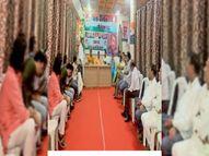 कांग्रेस 25 को करेगी जिला स्तरीय धरना, धरने की तैयारी को लेकर जिला कार्यालय में हुई कार्यकर्ताओं की बैठक|होशंगाबाद,Hoshangabad - Money Bhaskar