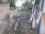रेलवे अंडरब्रिज मार्ग सहित अन्य क्षेंत्रों में नहीं हाे रही नियमित सफाई, मच्छराें की समस्या बढ़ी|टिमरनी,Timarni - Money Bhaskar