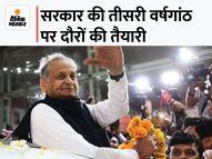 कांग्रेस को सताया सत्ता विरोधी लहर का डर, पूरी तरह स्वस्थ होते ही सीएम का फील्ड में दौरे करने का प्लान|जयपुर,Jaipur - Money Bhaskar