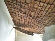 अफसरों को कैसे पढ़ाया जाए कि इतने जर्जर भवनों में पढ़ाई नहीं हो सकती? बिलासपुर,Bilaspur - Money Bhaskar