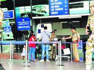 एयरपोर्ट के ऊपर 8 मिनट चक्कर काटता रहा विमान, दिल्ली से आई थी फ्लाइट|जयपुर,Jaipur - Money Bhaskar