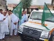 सड़क हादसों में घायल व मरीजों को समय पर अस्पताल पहुंचाने में रहेगी सहायक,खण्डीप का सरकारी हिन्दी स्कूल इंग्लिश मीडियम में बदला|गंगापुर सिटी,Gangapur City - Money Bhaskar