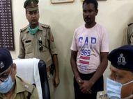 बीड़ी पीने के बहाने घर से ले गया था बाहर, सिर पर पत्थर मारकर की हत्या, पुलिस ने किया गिरफ्तार फिरोजाबाद,Firozabad - Money Bhaskar