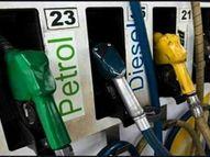 आज लगातार छठवें दिन महंगे हुए पेट्रोल-डीजल, अक्टूबर में अब तक पेट्रोल 2.50 और डीजल 2.95 रुपए महंगा हुआ|पर्सनल फाइनेंस,Personal Finance - Money Bhaskar